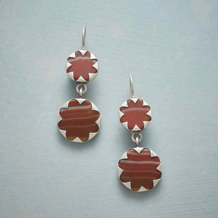 BLOOD ORANGE EARRINGS
