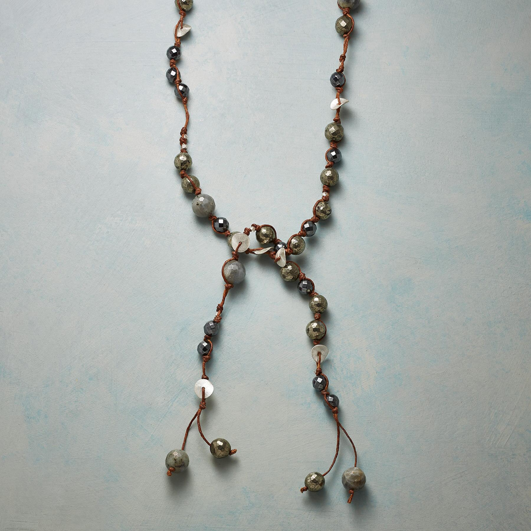 PYRITE NECKLACE: View 1