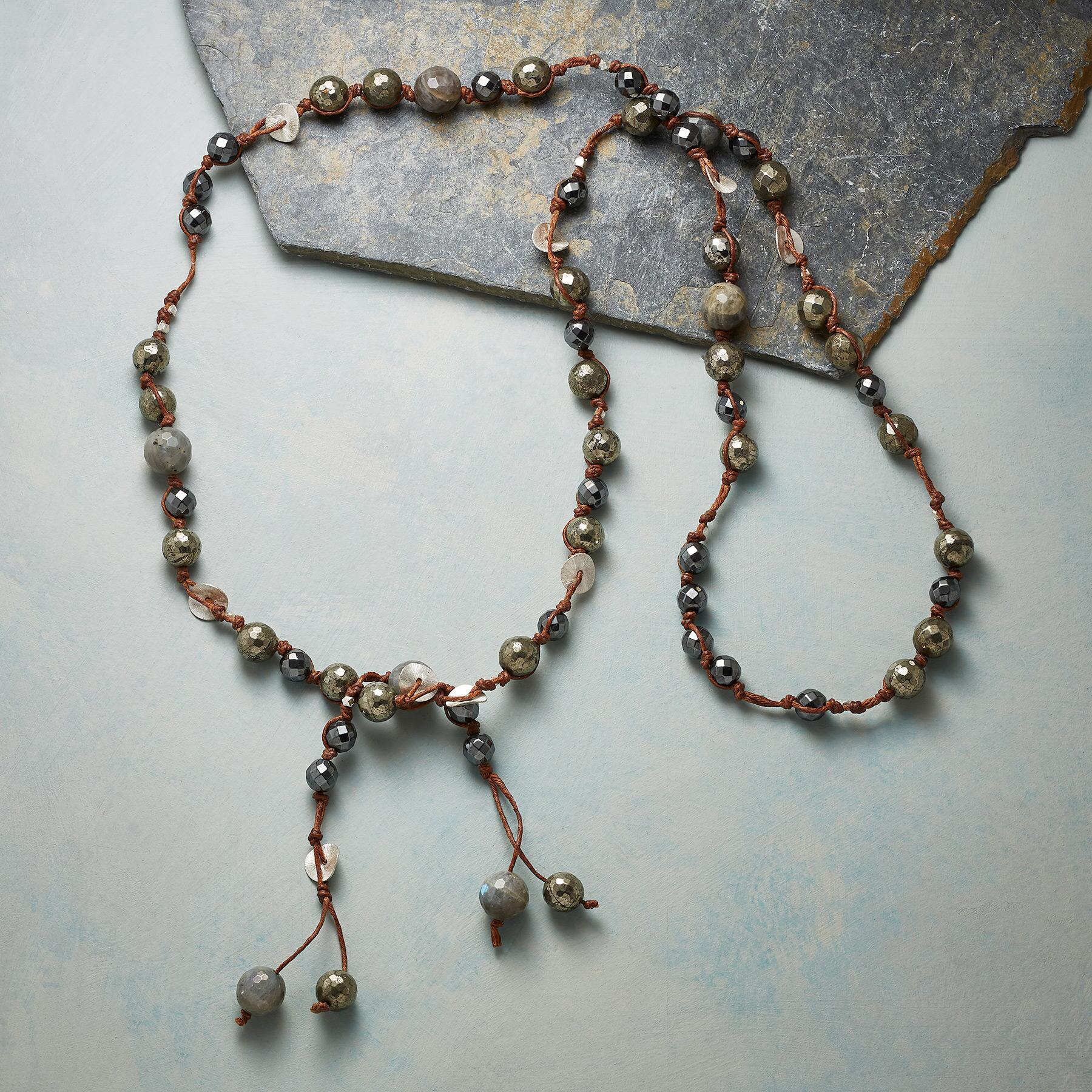 PYRITE NECKLACE: View 2