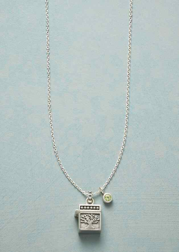 THOUGHTS & WISHES BIRTHSTONE NECKLACE