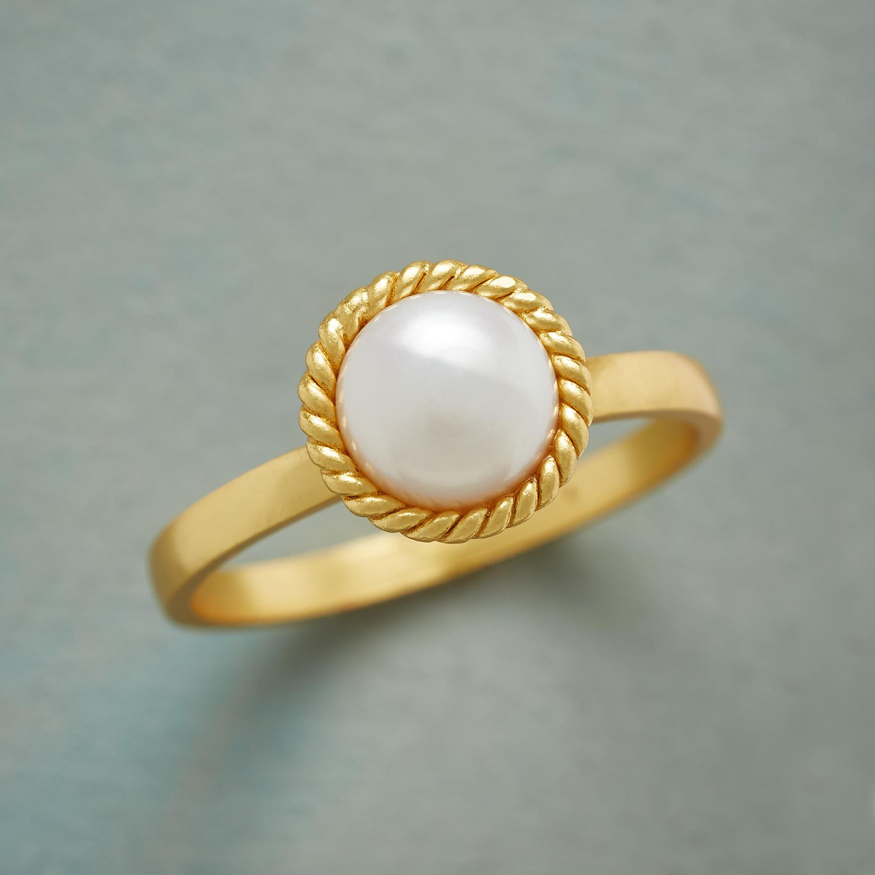 PEARL HALO RING: View 1