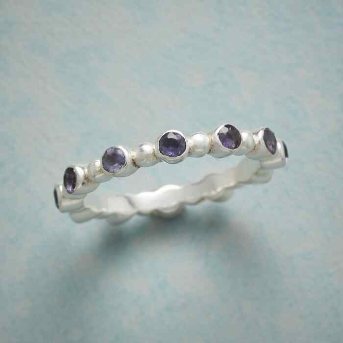 IOLITE SEED RING