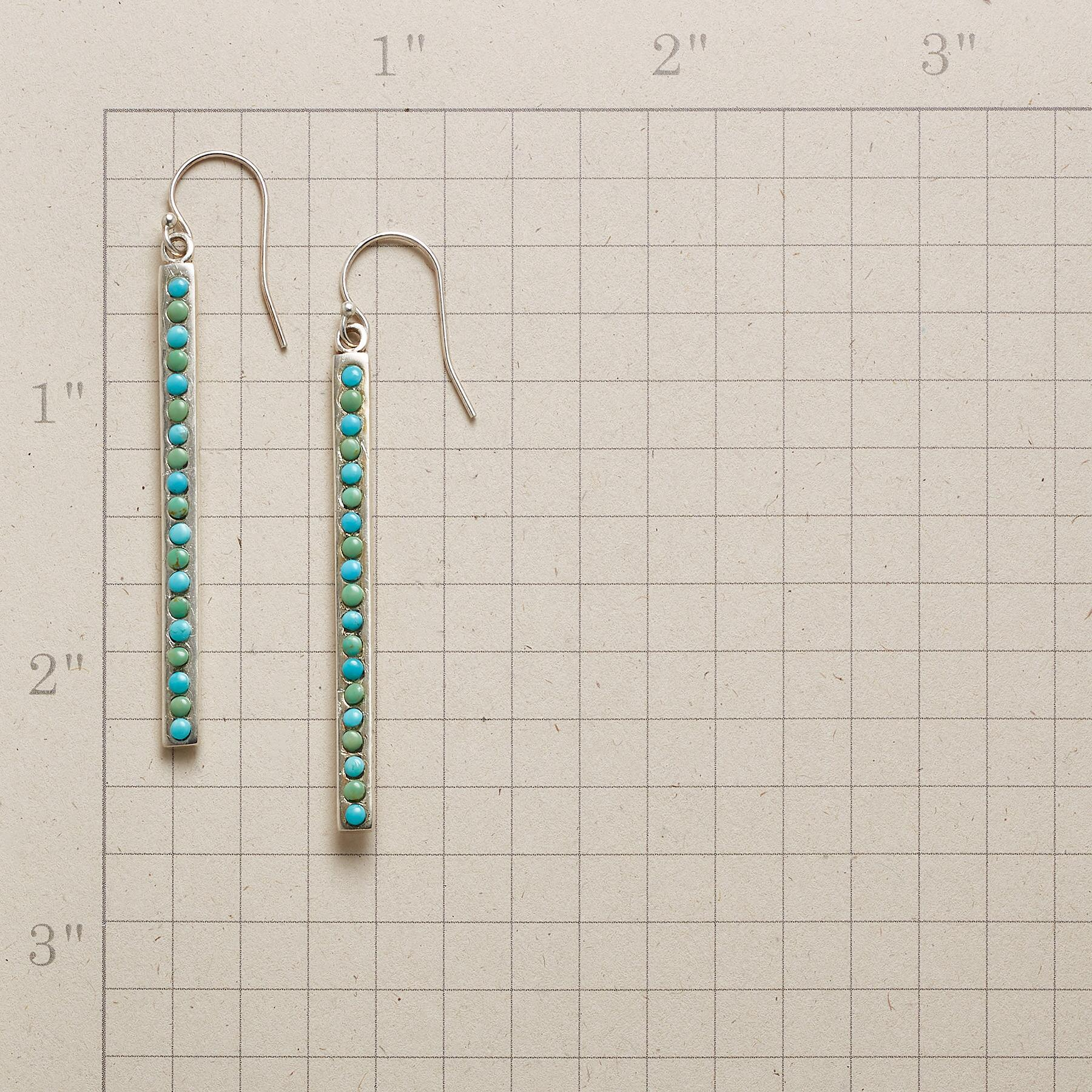 ON THE LINE EARRINGS: View 2