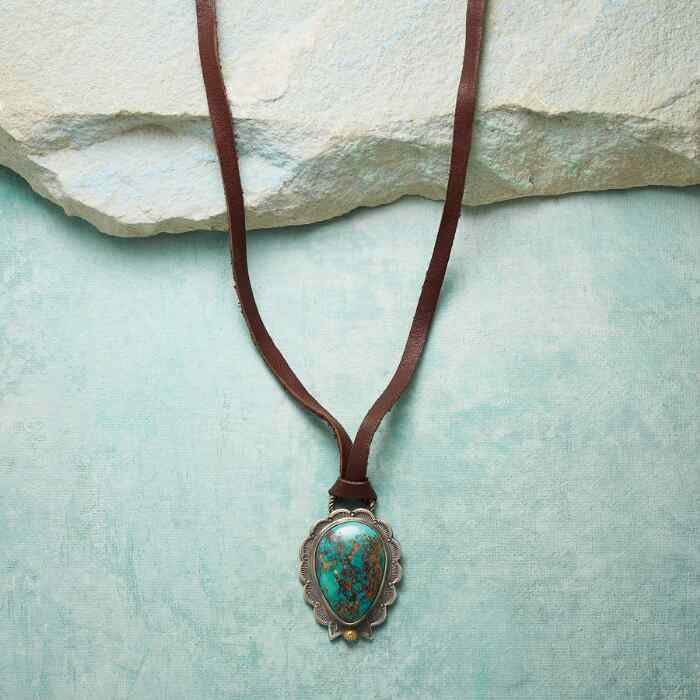 SPRING MOUNTAIN SKY NECKLACE