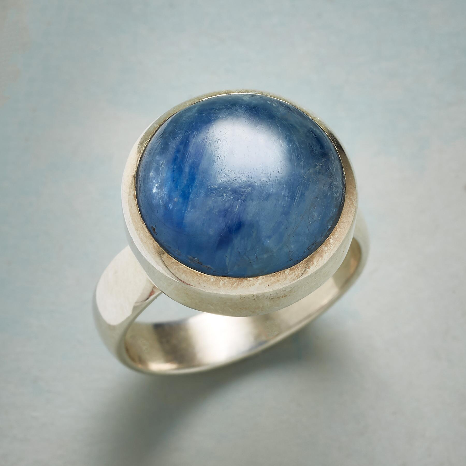 REFLECTIONS IN BLUE RING: View 1
