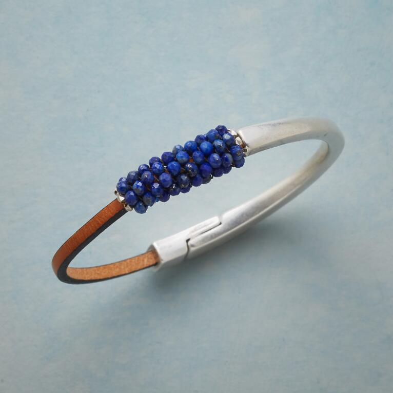 COLOR COALITION LAPIS BRACELET