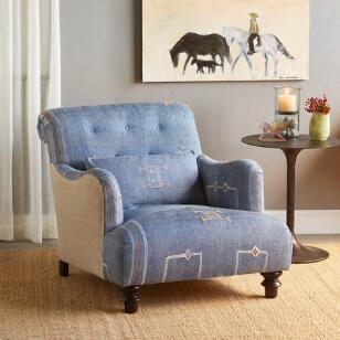 Nadim Moroccan Club Chair