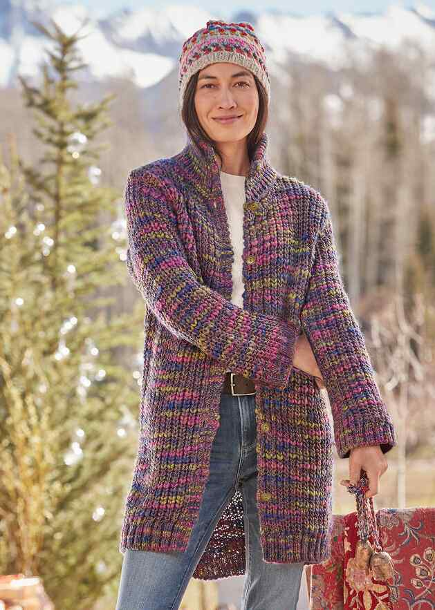 AINSLEY HIGHLAND CARDIGAN
