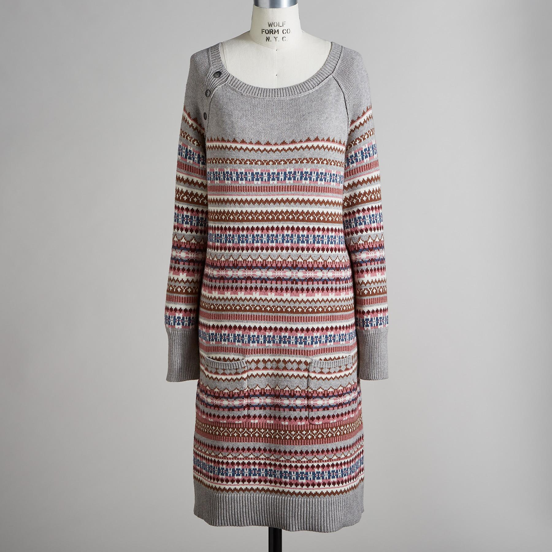 ELISE LIGHTHOUSE SWEATER DRESS: View 2