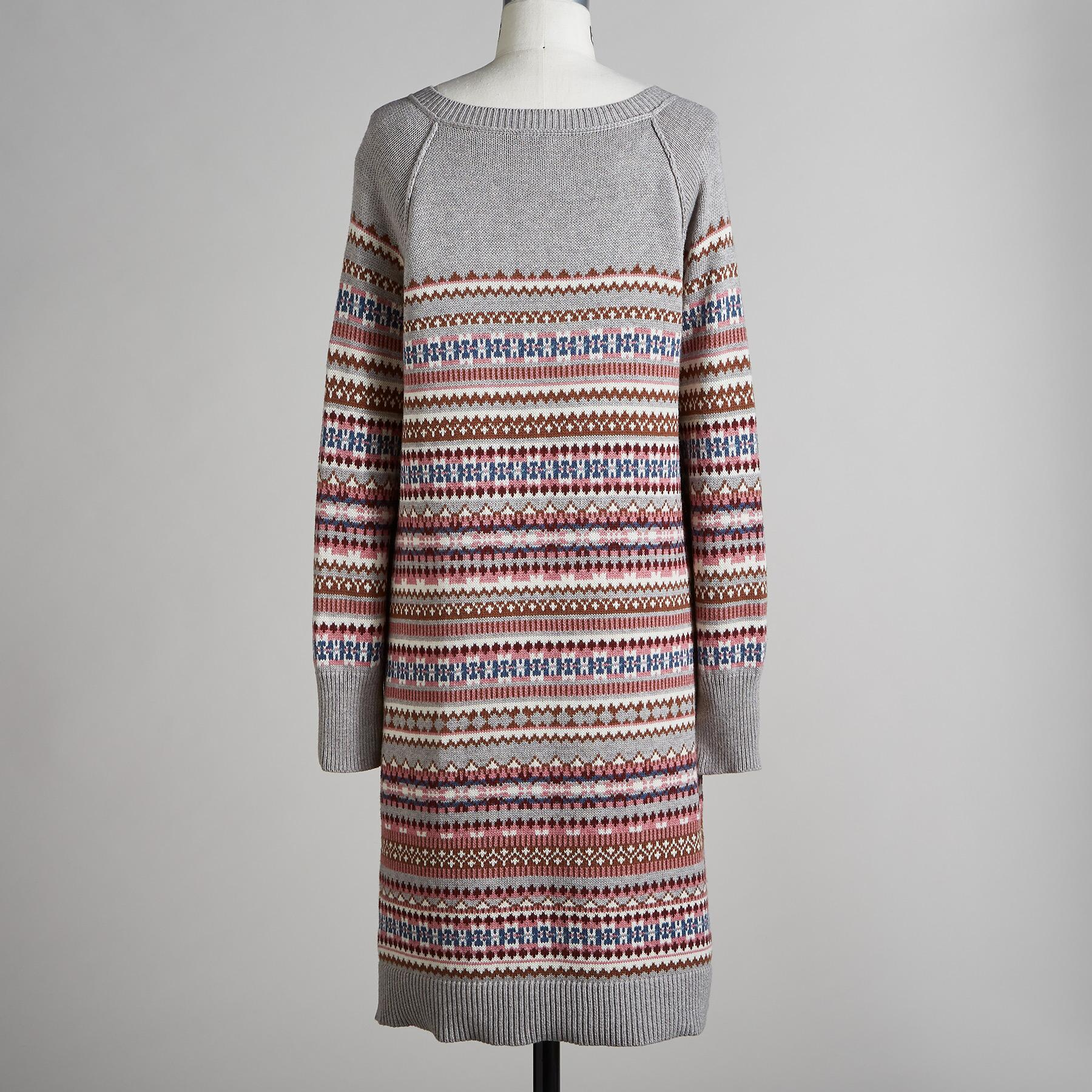 ELISE LIGHTHOUSE SWEATER DRESS: View 3