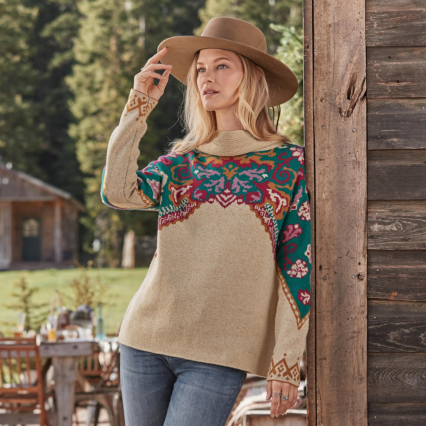 JOURNEY EAST SWEATER: View 1