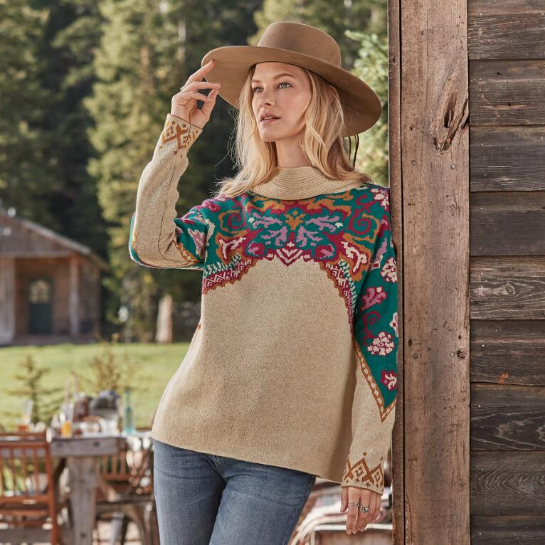 JOURNEY EAST SWEATER