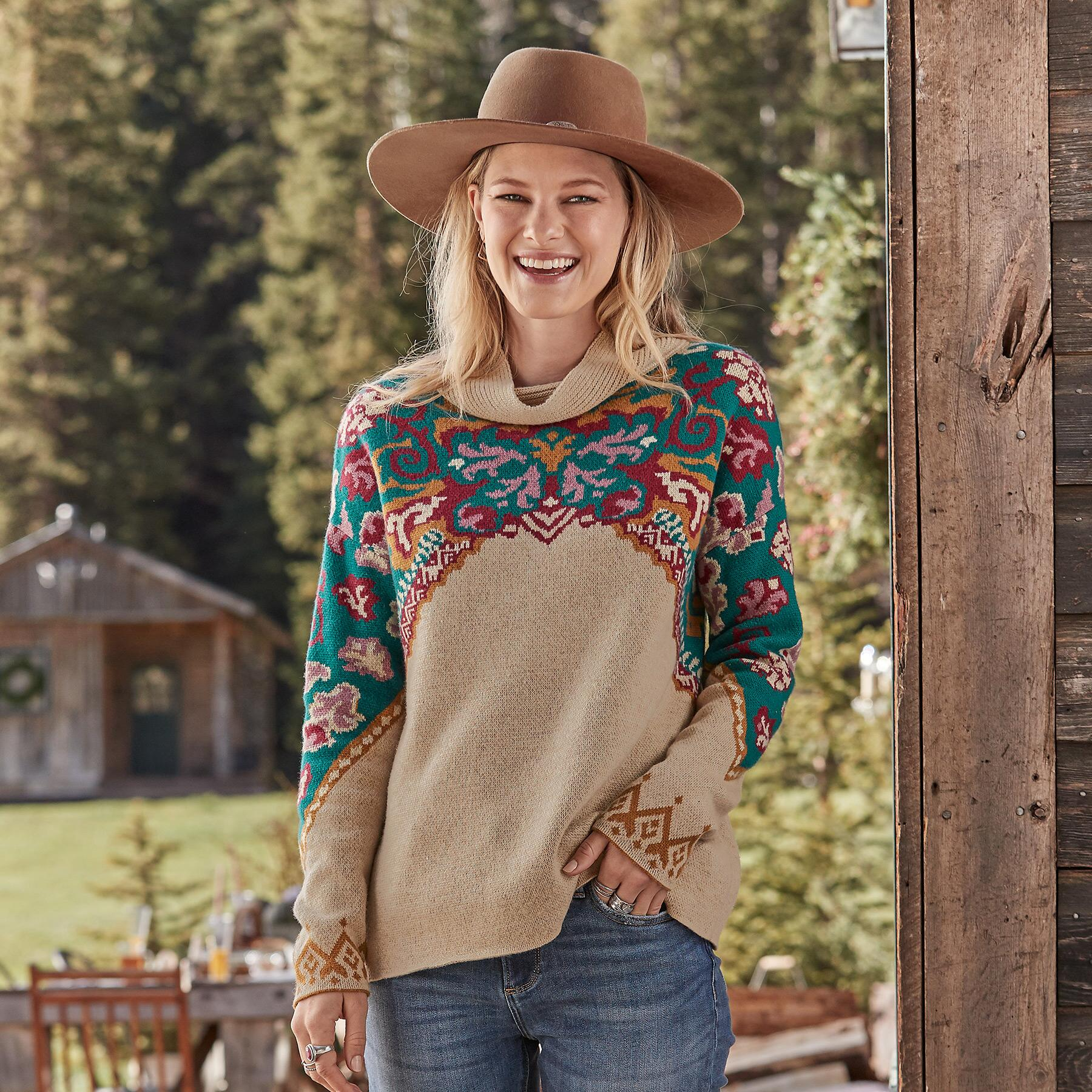 JOURNEY EAST SWEATER: View 2