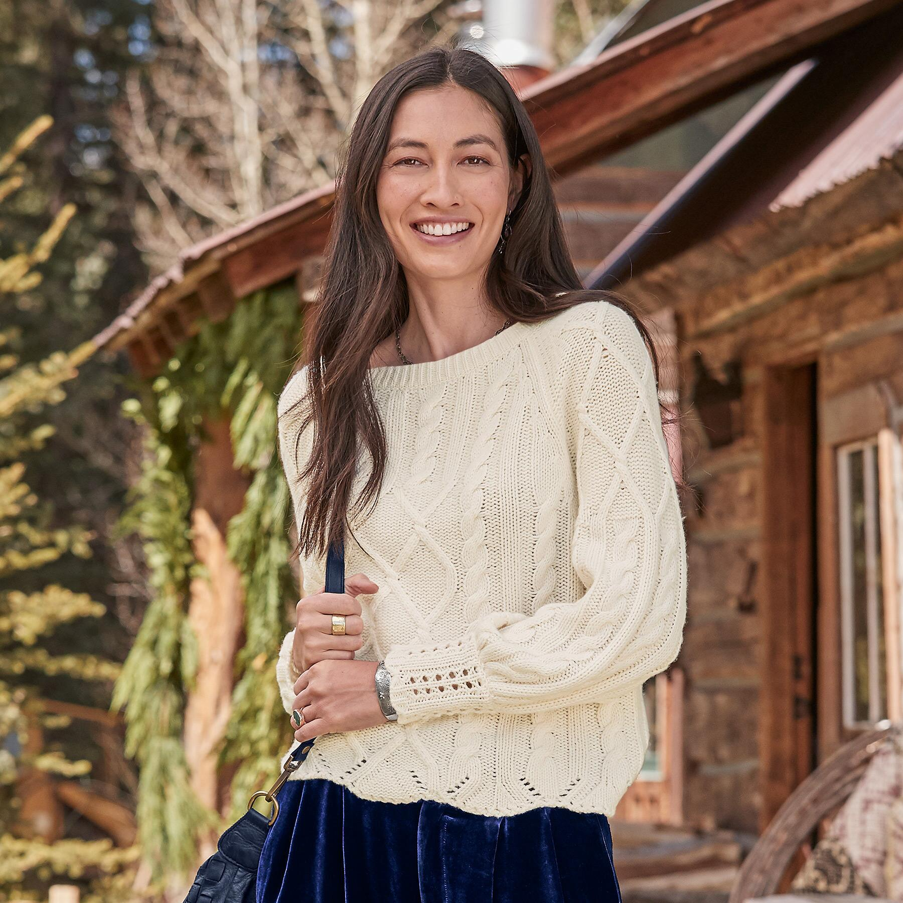 GABLE ROAD SWEATER: View 1