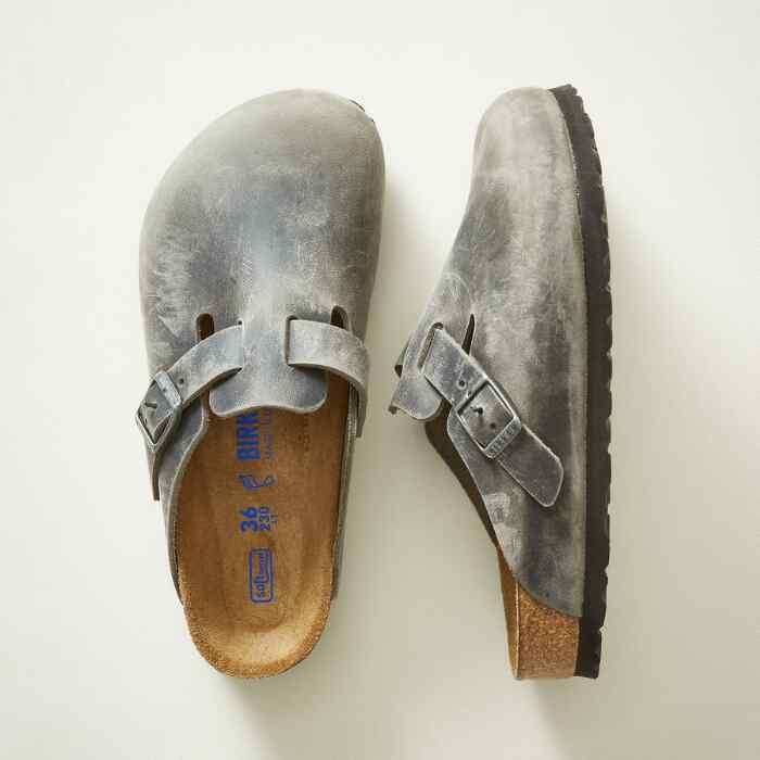 BOSTON SOFT FOOTBED MULES
