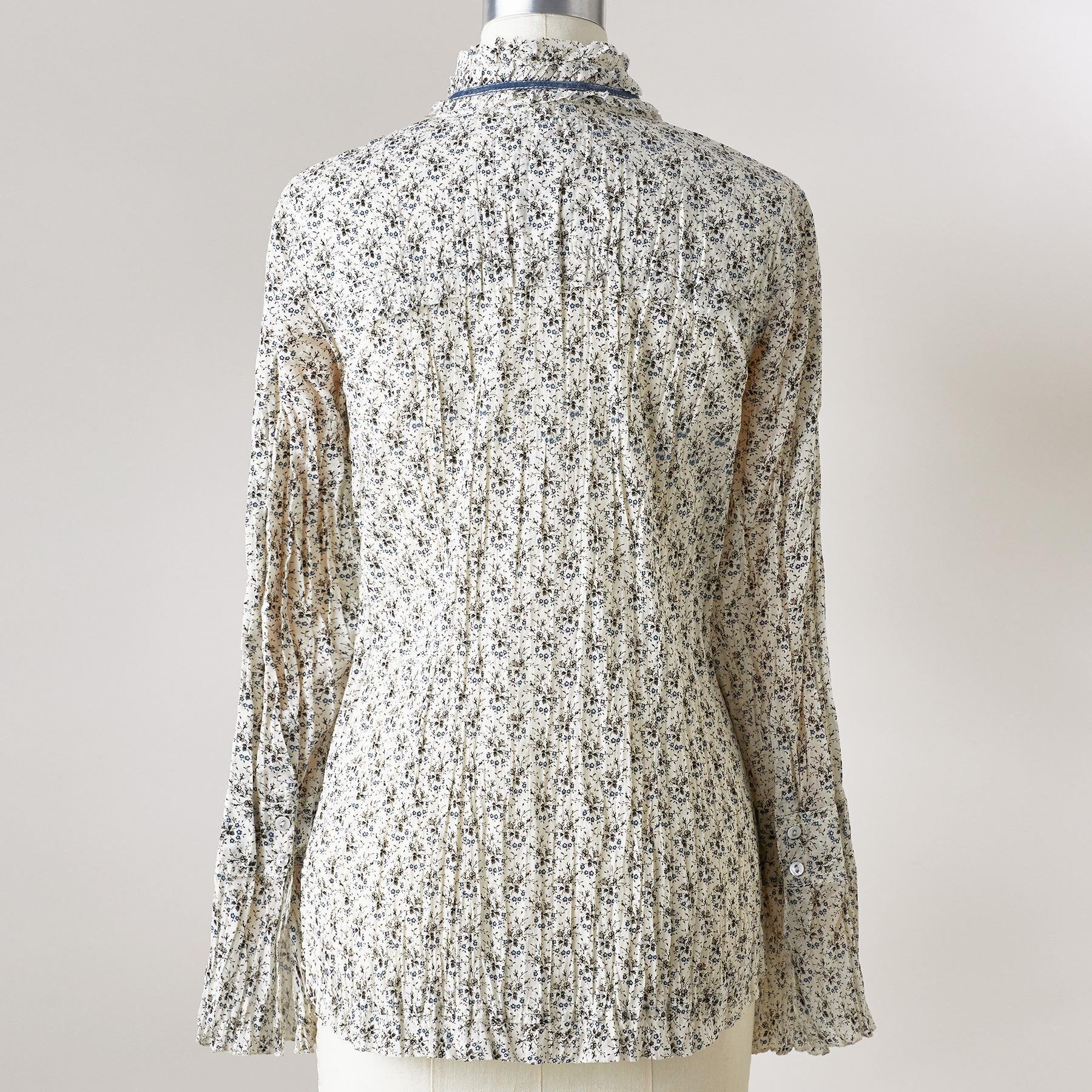RUFFLE VINTAGE TOP: View 3