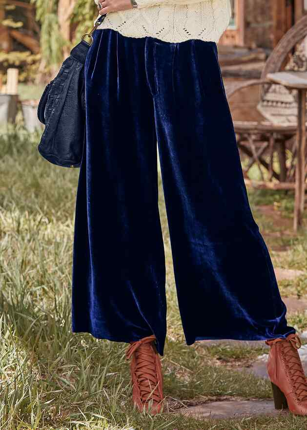 WILLOW VELVET PANTS - PETITES