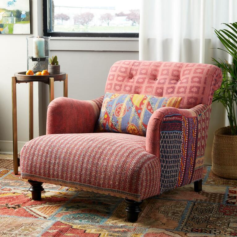 Barkha Sari Club Chair