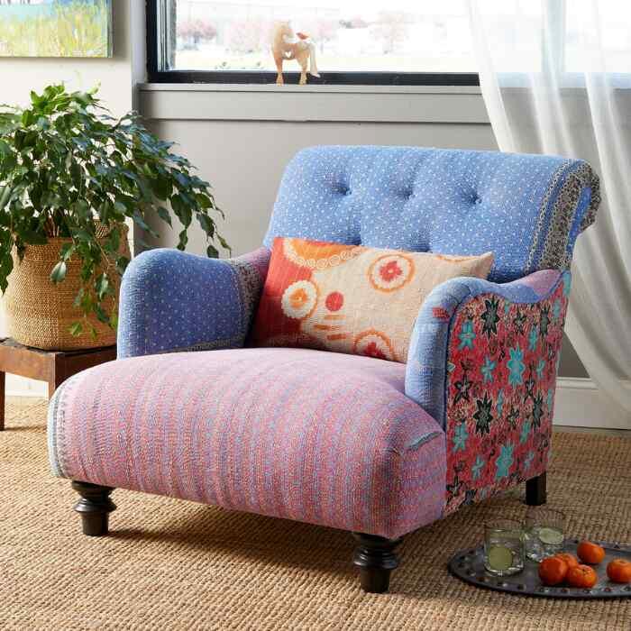 Eeshta Sari Club Chair