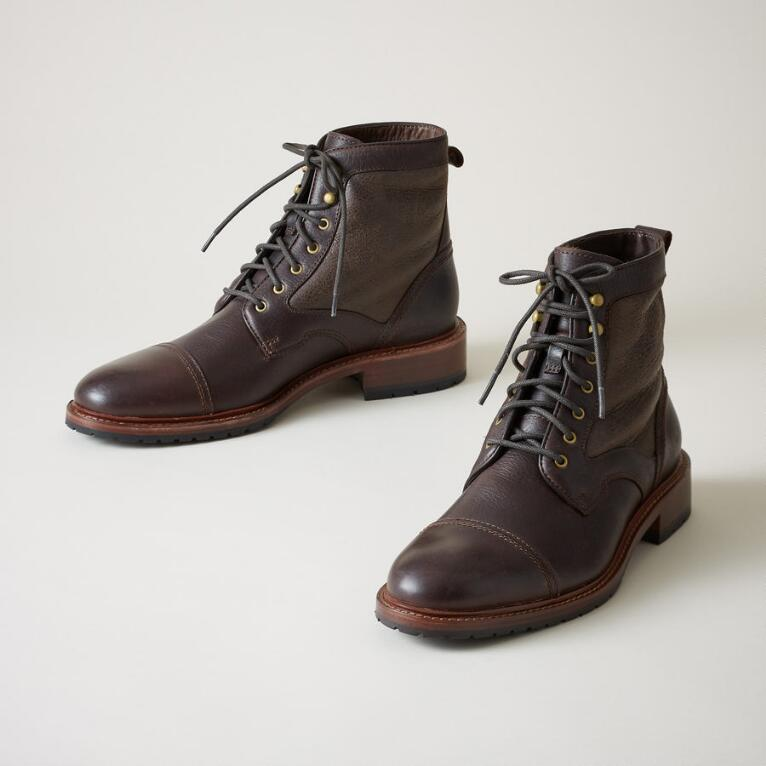 LAWRENCE SHEARLING BOOTS