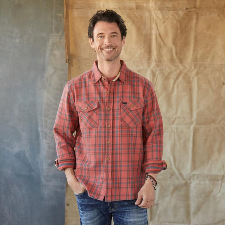DODGE PLAID SHIRT