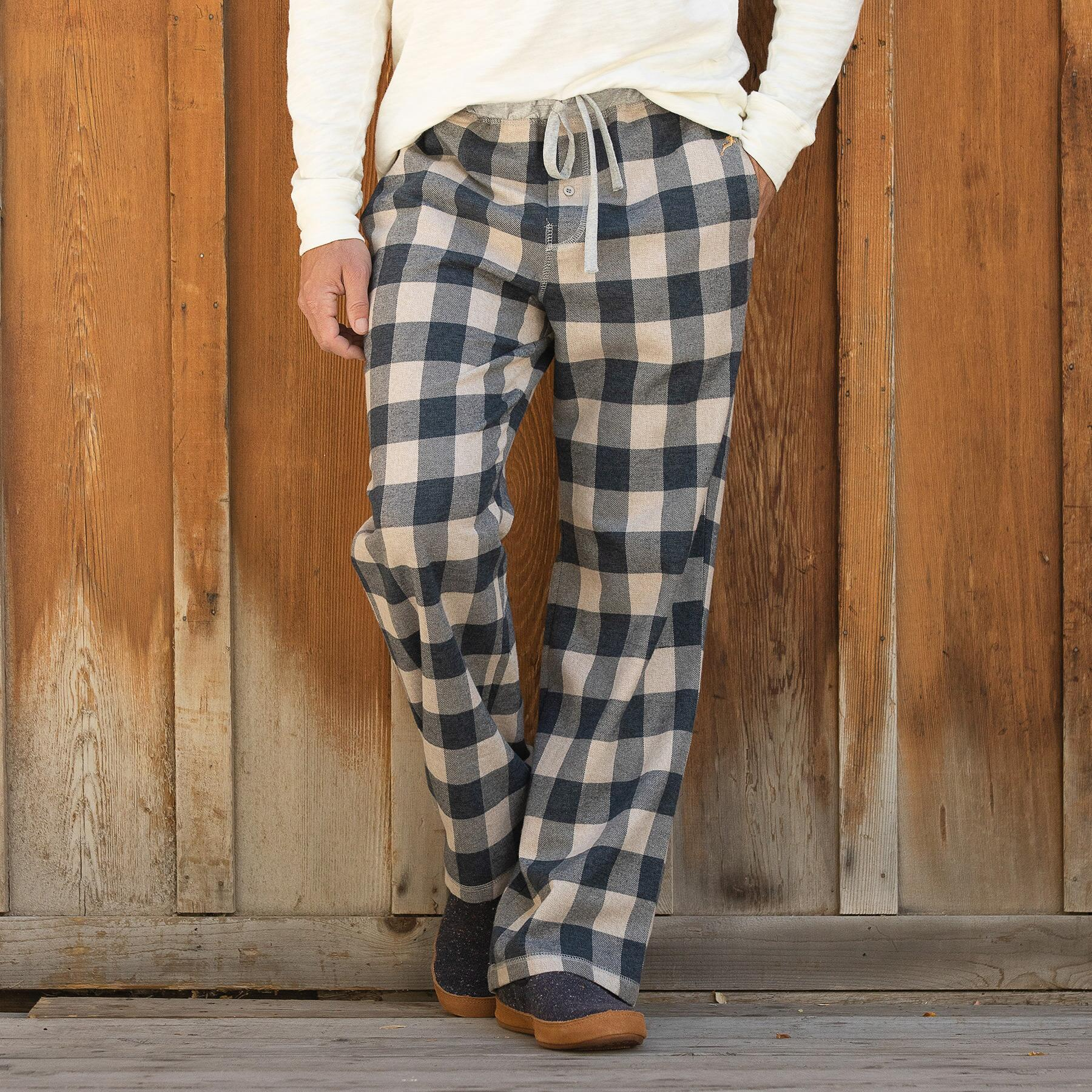 MCHENRY FLANNEL PAJAMA PANTS: View 1