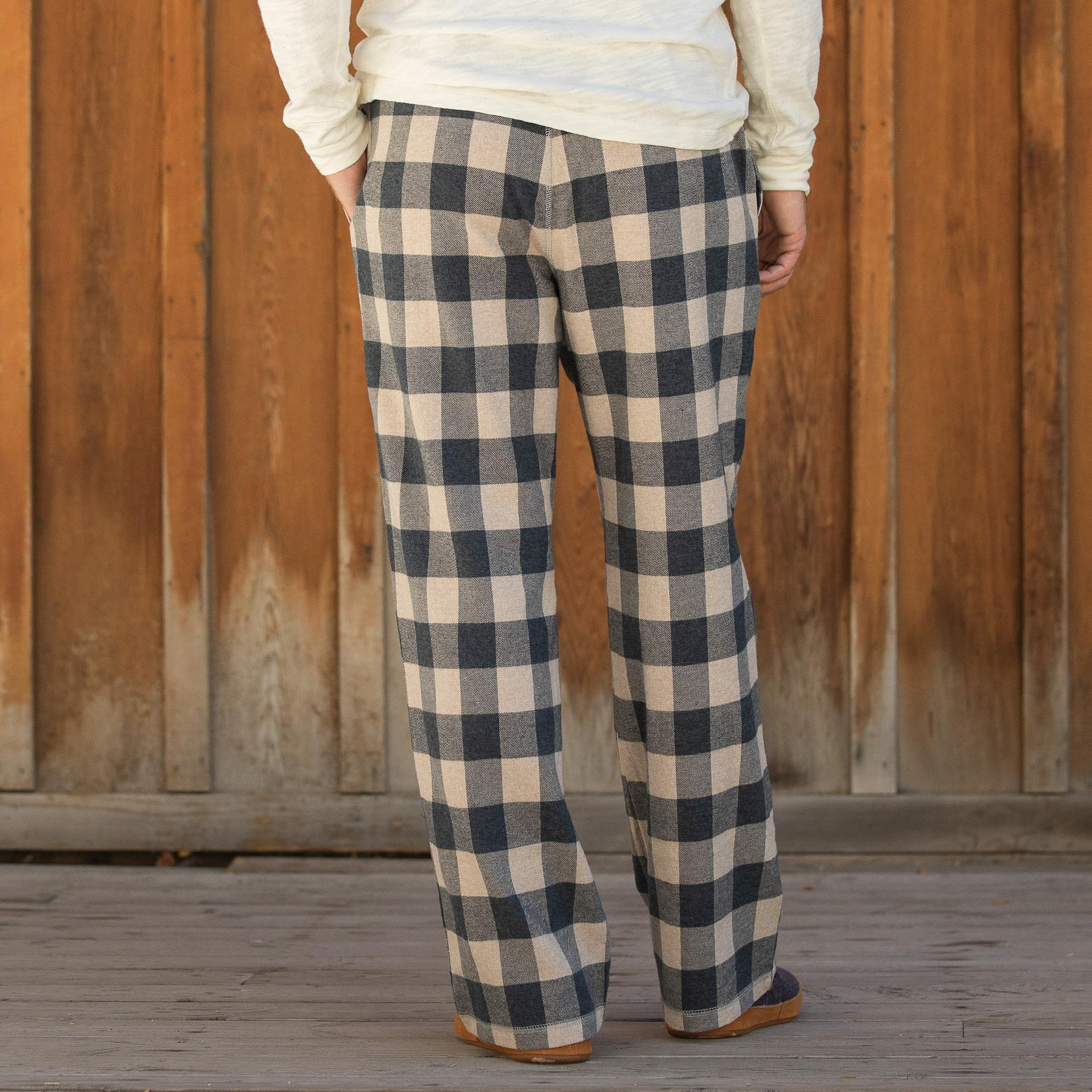 MCHENRY FLANNEL PAJAMA PANTS: View 2