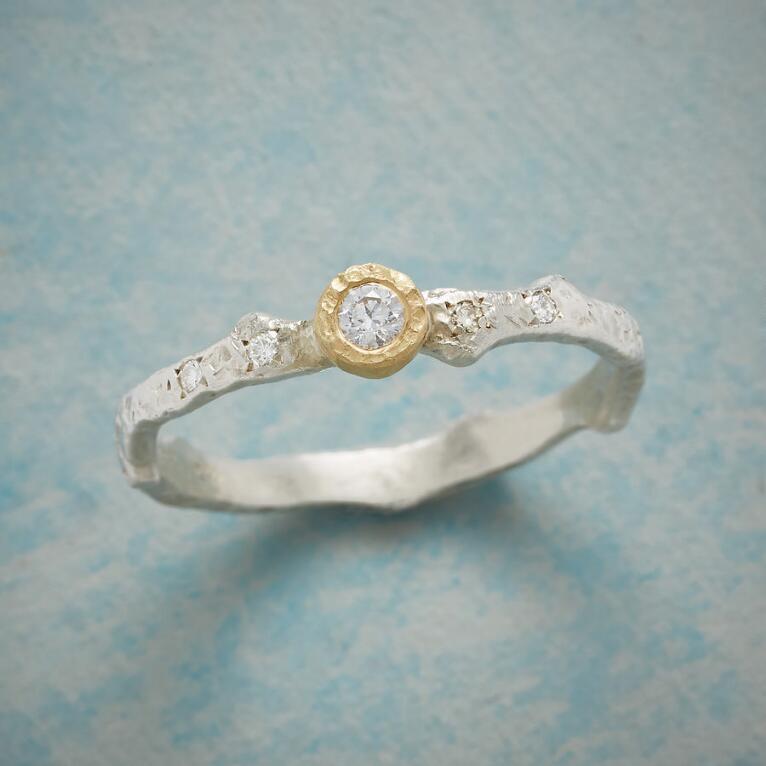 ON THE VINE DIAMOND RING