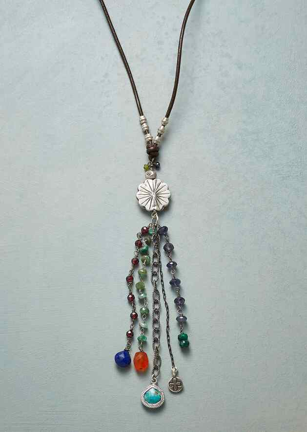 FLOWER SHOWER NECKLACE