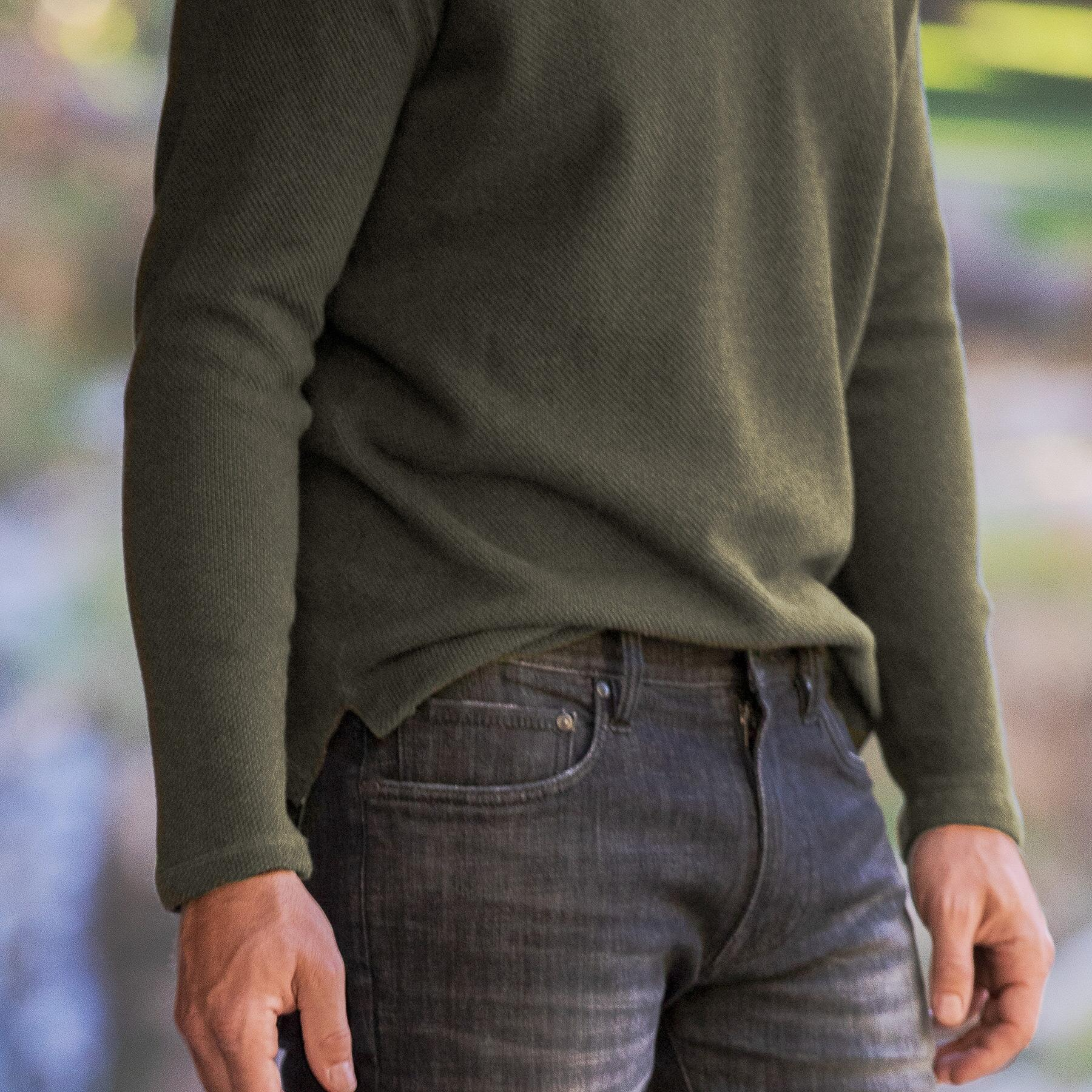 TONY TWO BUTTON HENLEY: View 3