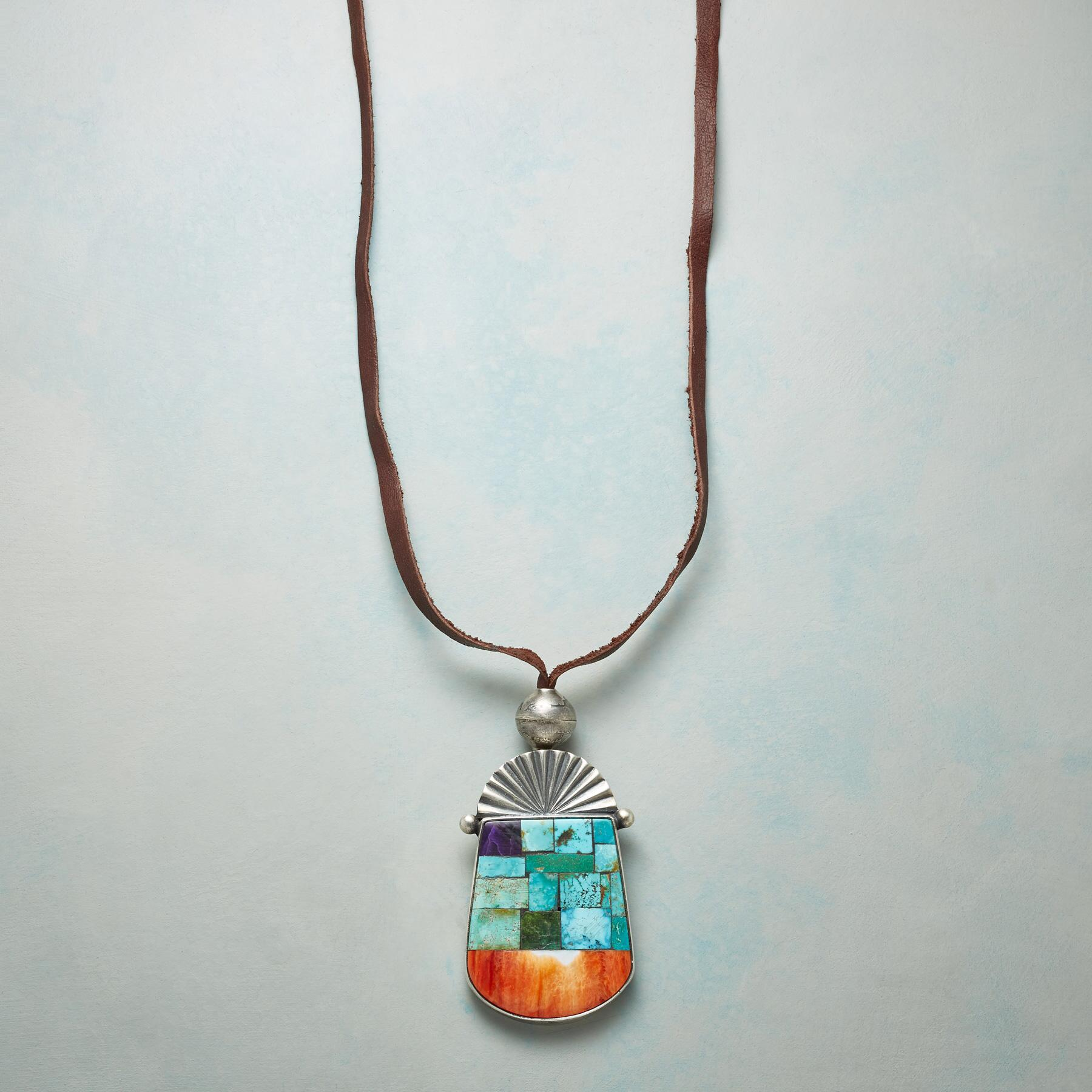 DESERT MOSAIC NECKLACE: View 1