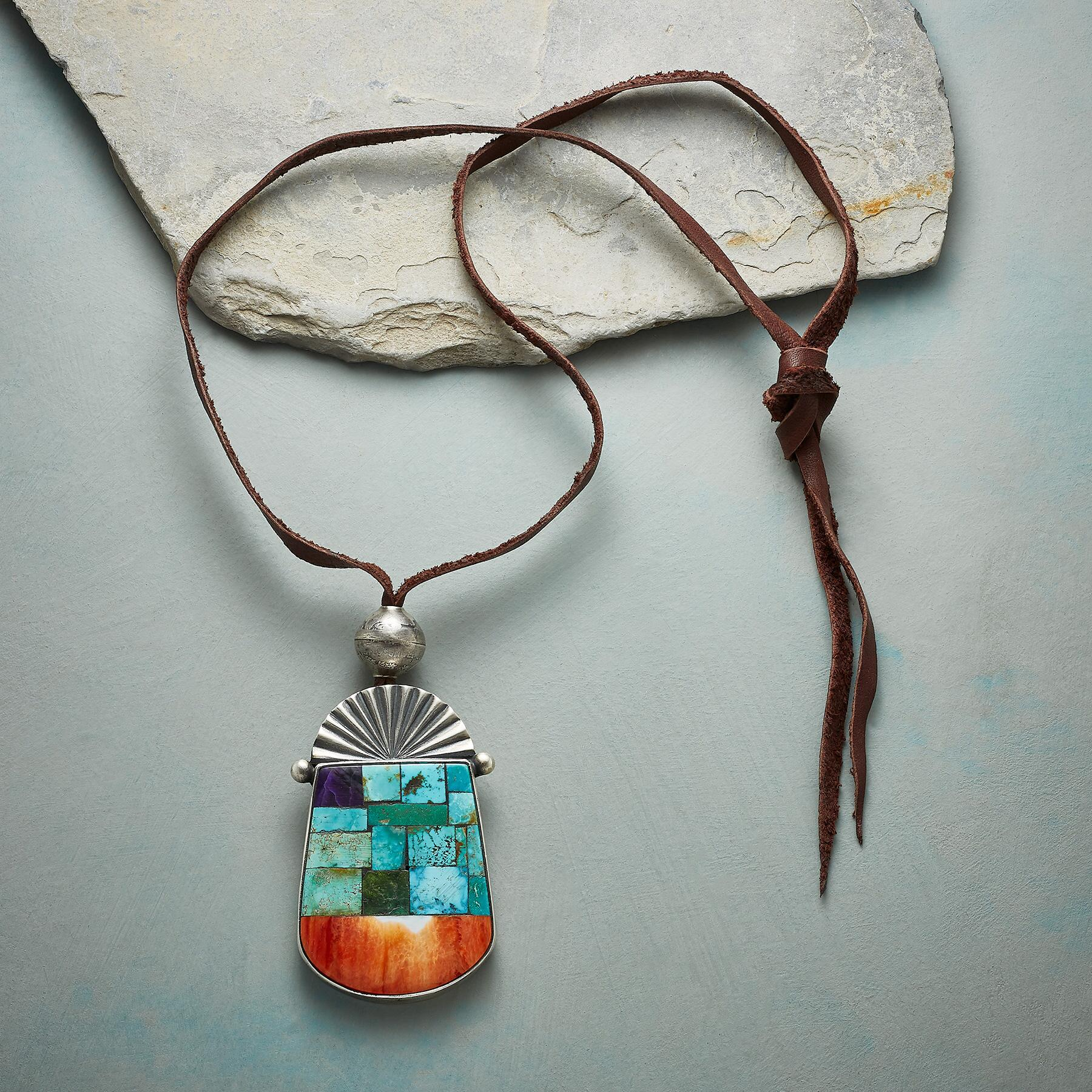 DESERT MOSAIC NECKLACE: View 2