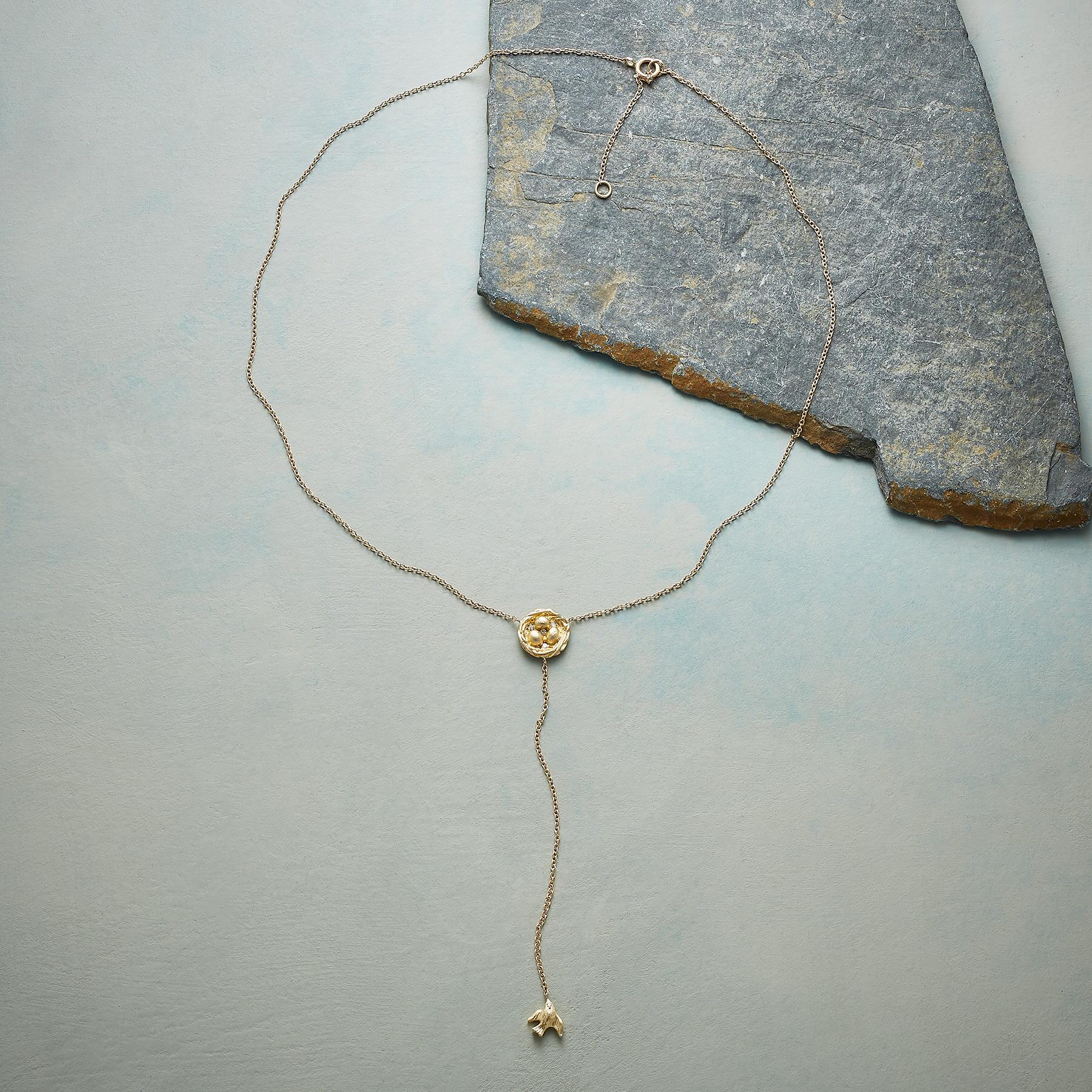 BIRD ON THE WING NECKLACE: View 2