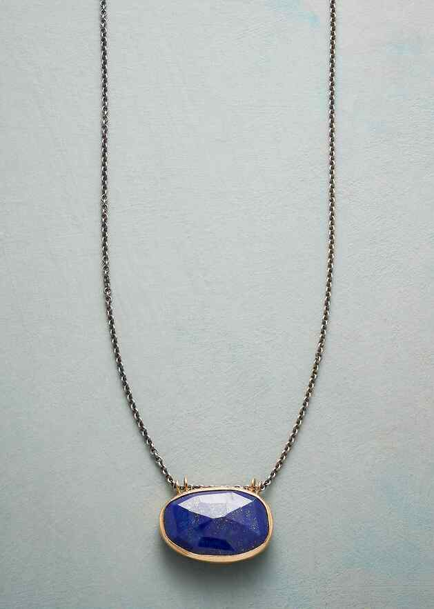 RENAISSANCE IN BLUE NECKLACE