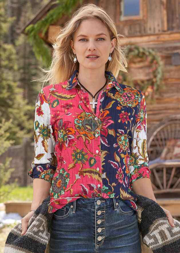 BARBADOS MIX BLOUSE