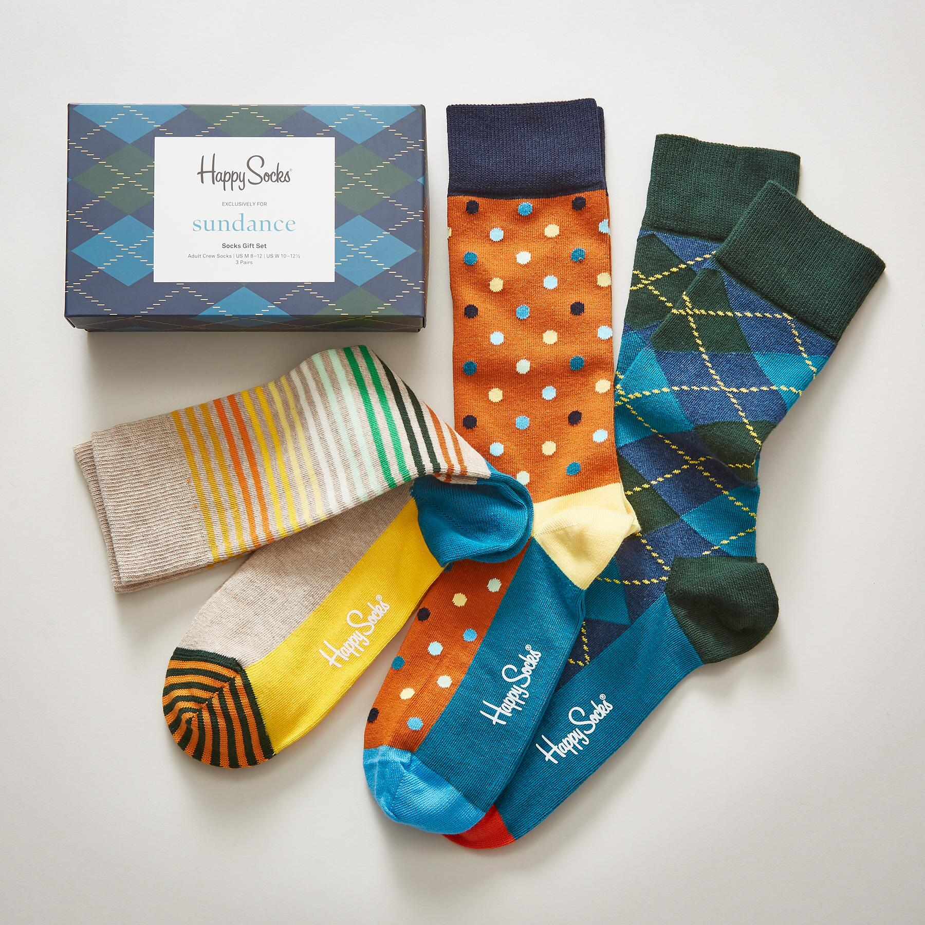 PARTY MIX SOCKS, SET OF 3: View 1