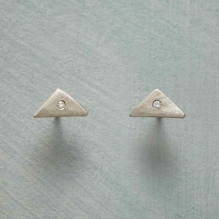 JEWELED GEOMETRY EARRINGS