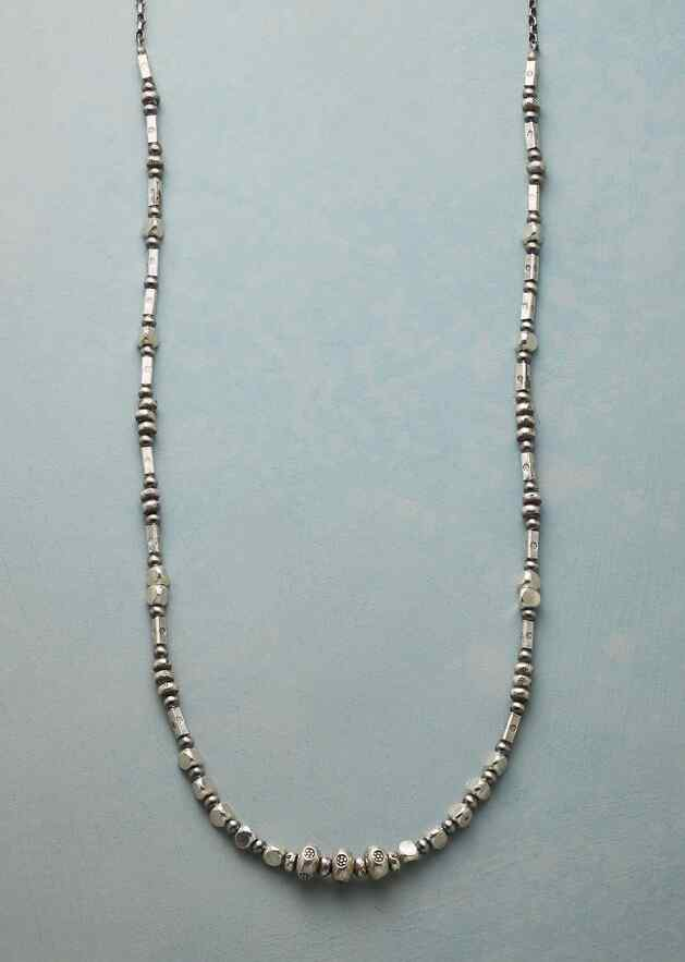 NOTATIONS IN STERLING NECKLACE