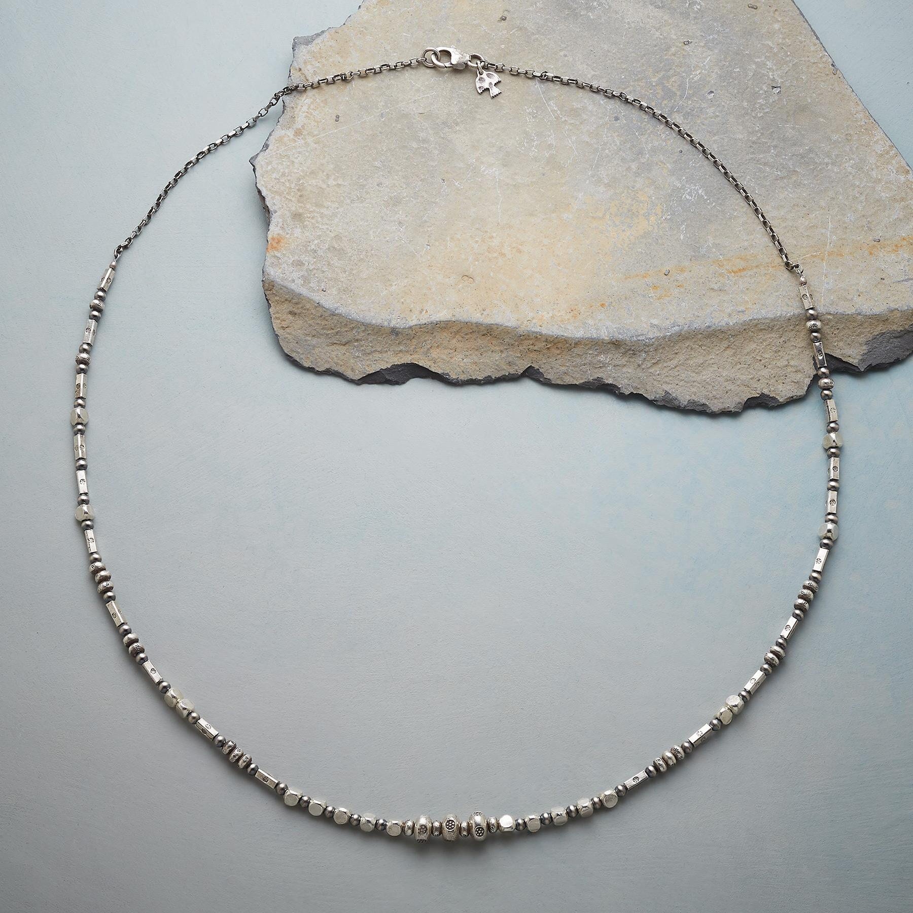 NOTATIONS IN STERLING NECKLACE: View 2