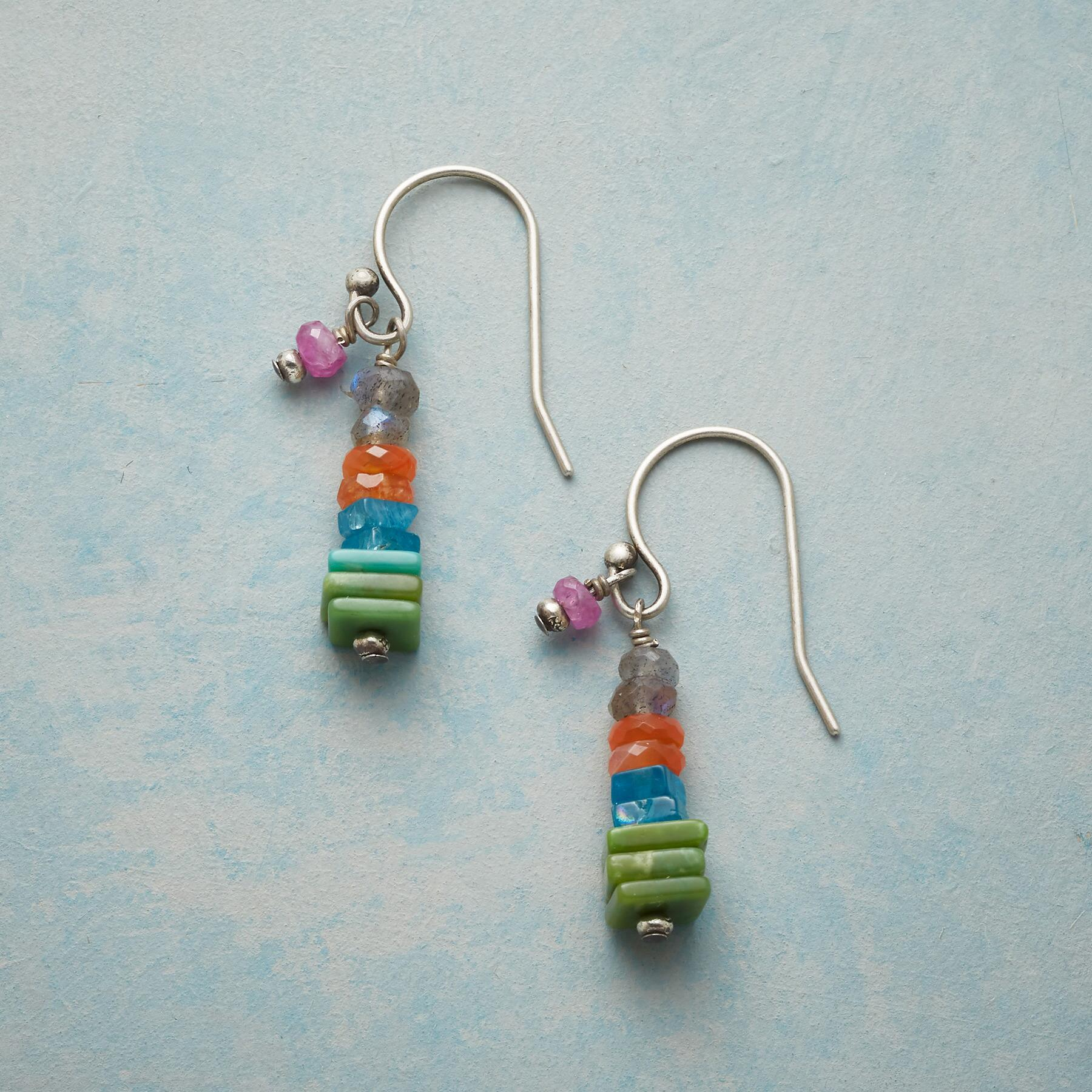 STONE AGE EARRINGS: View 1