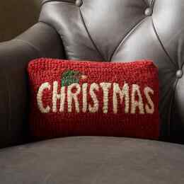 RED CHRISTMAS MINI PILLOW