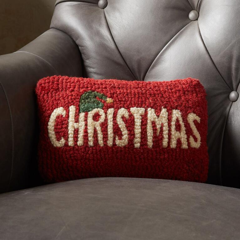 RED CHRISTMAS MINI PILLOW
