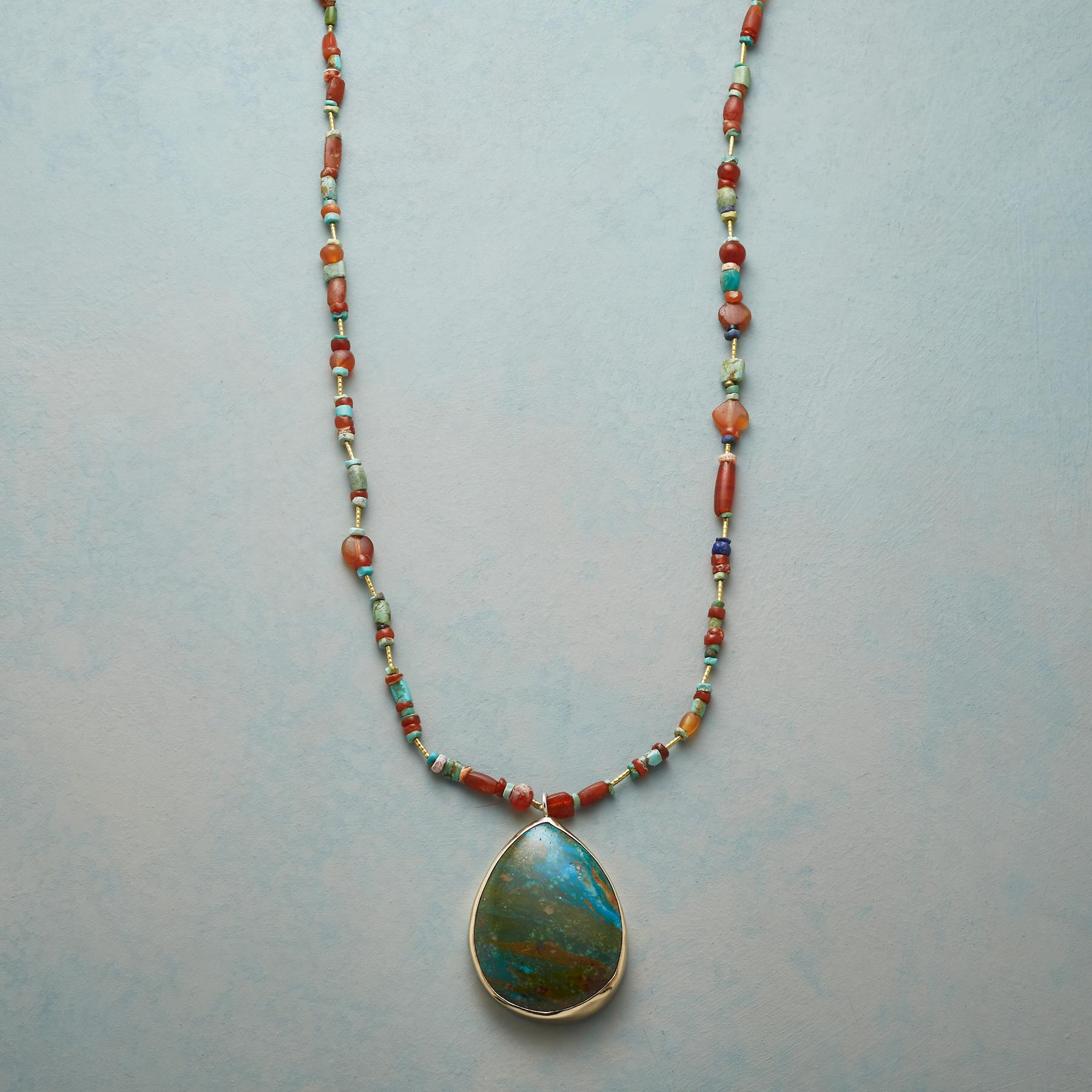 OPAL DROP NECKLACE: View 1