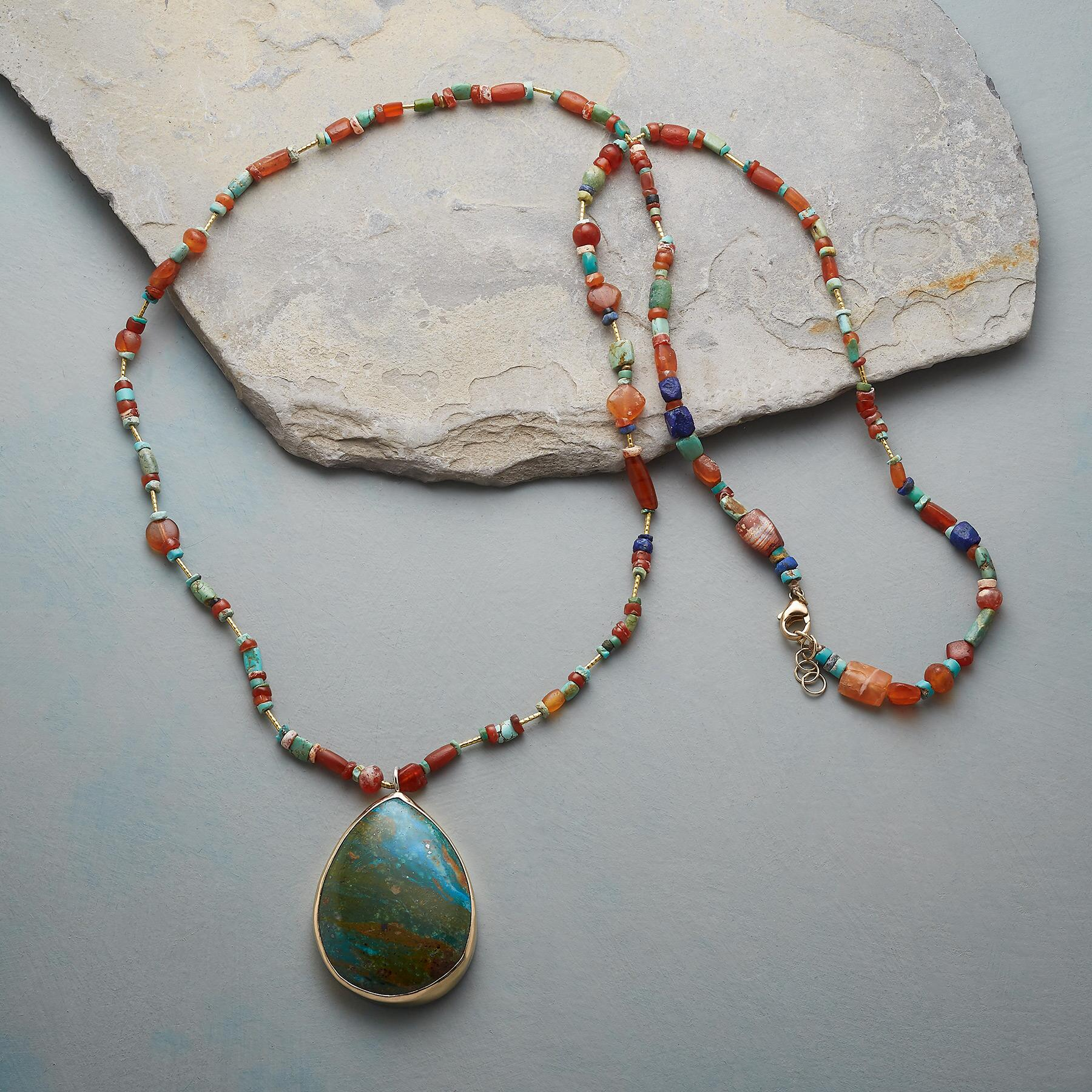 OPAL DROP NECKLACE: View 2