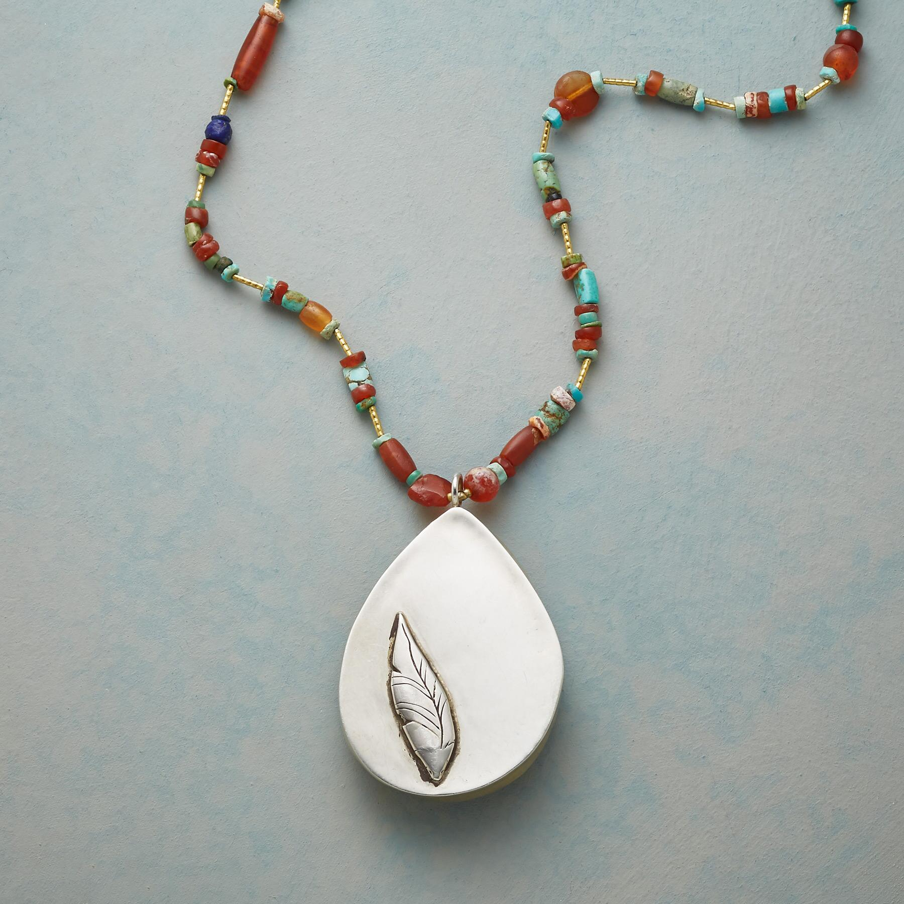 OPAL DROP NECKLACE: View 3