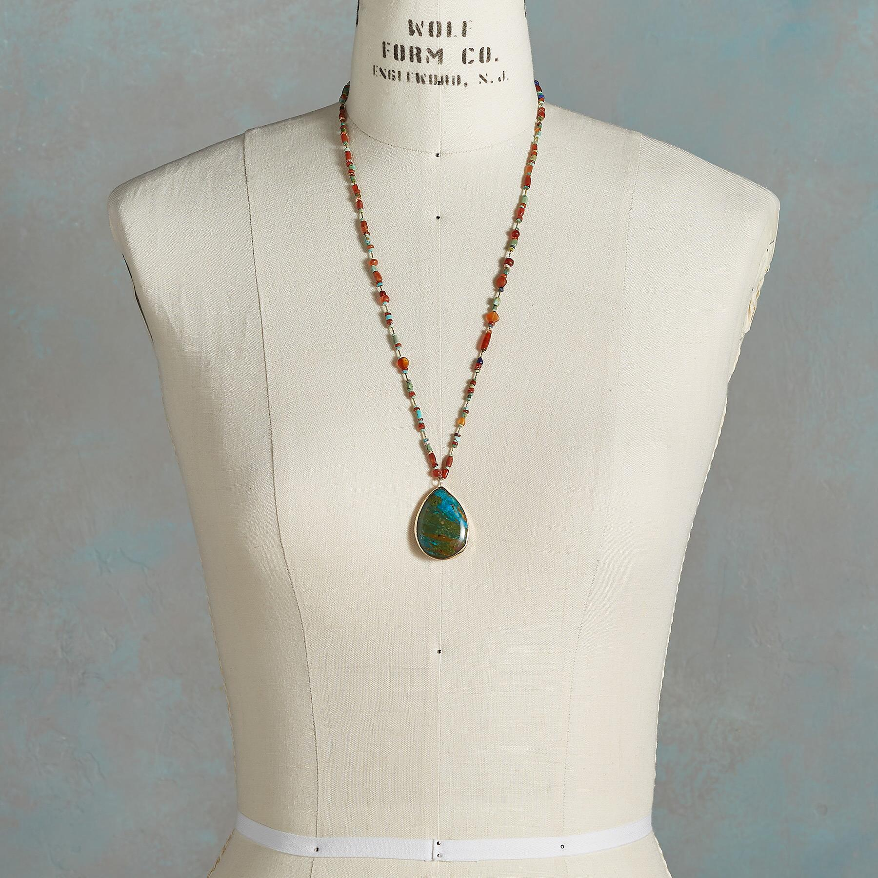 OPAL DROP NECKLACE: View 5