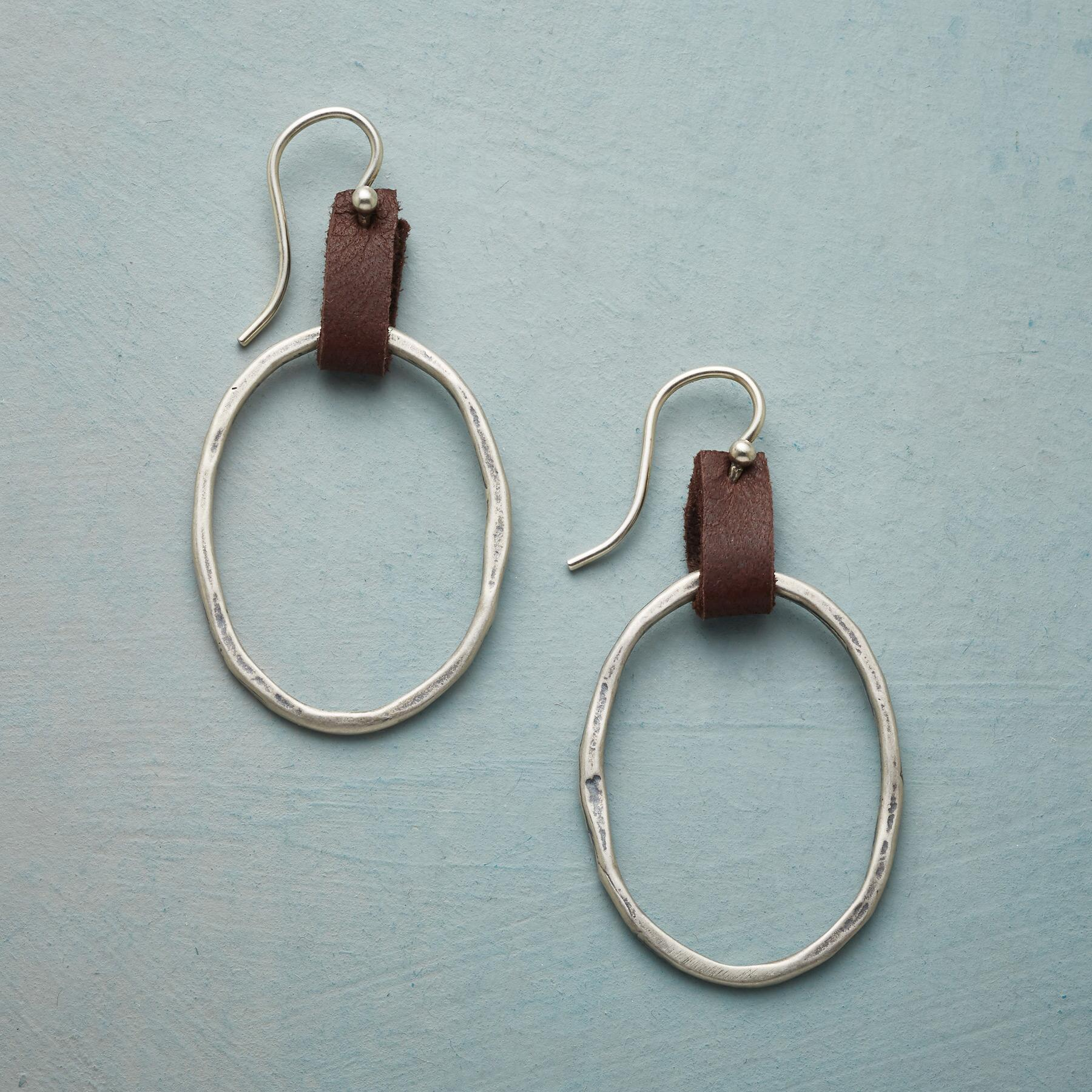 LOOPED EARRINGS: View 1