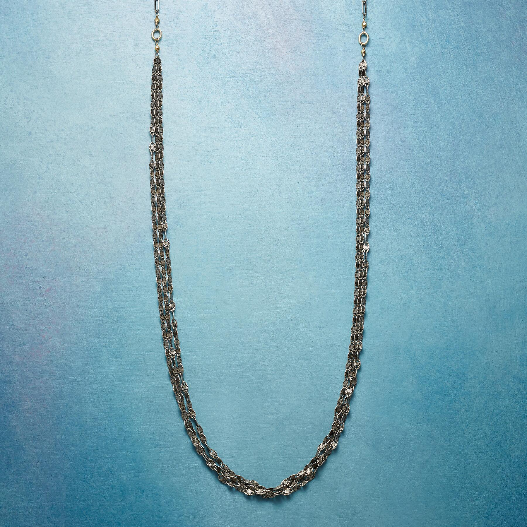 CHAIN OF DAYS NECKLACE: View 1