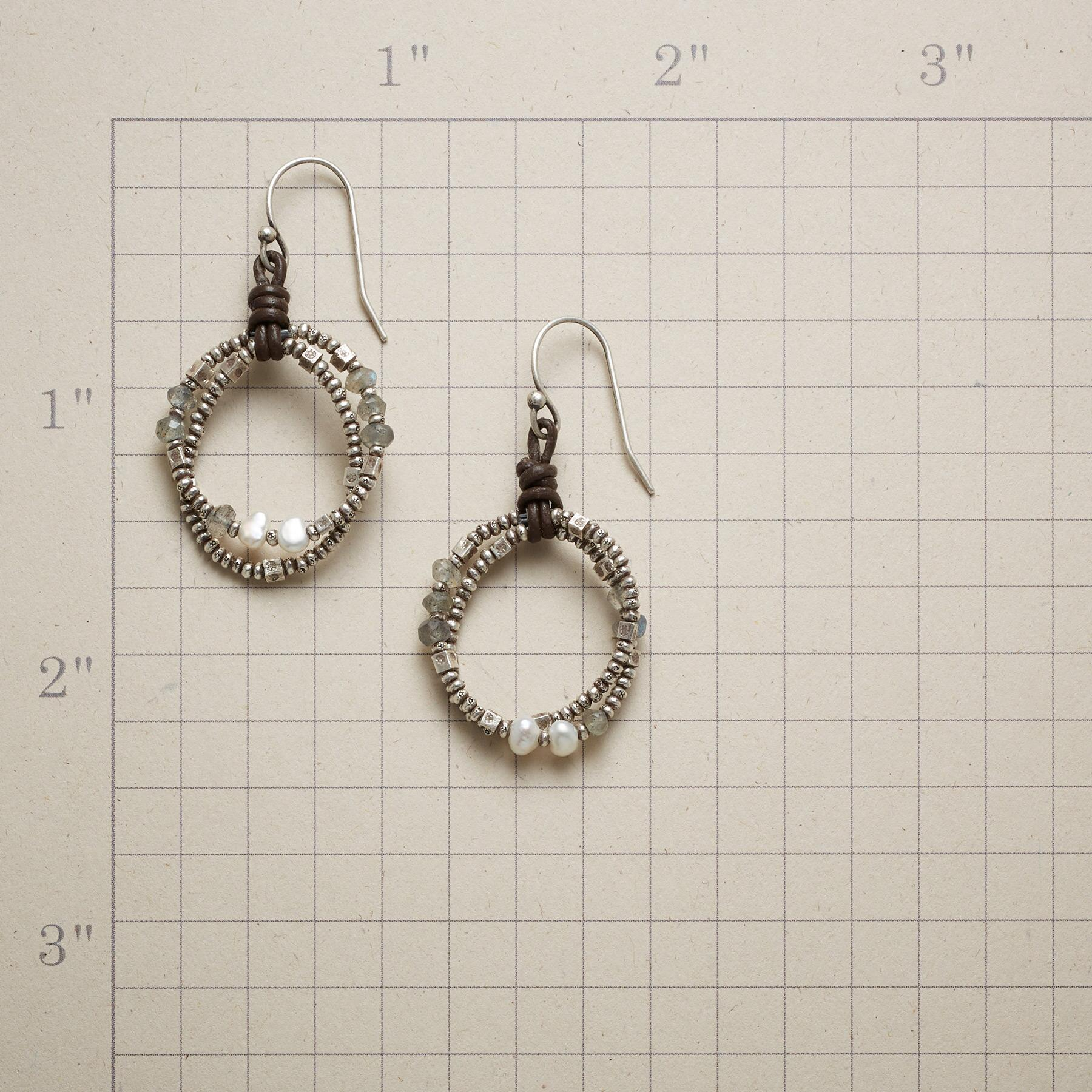 TWICE AROUND EARRINGS: View 2