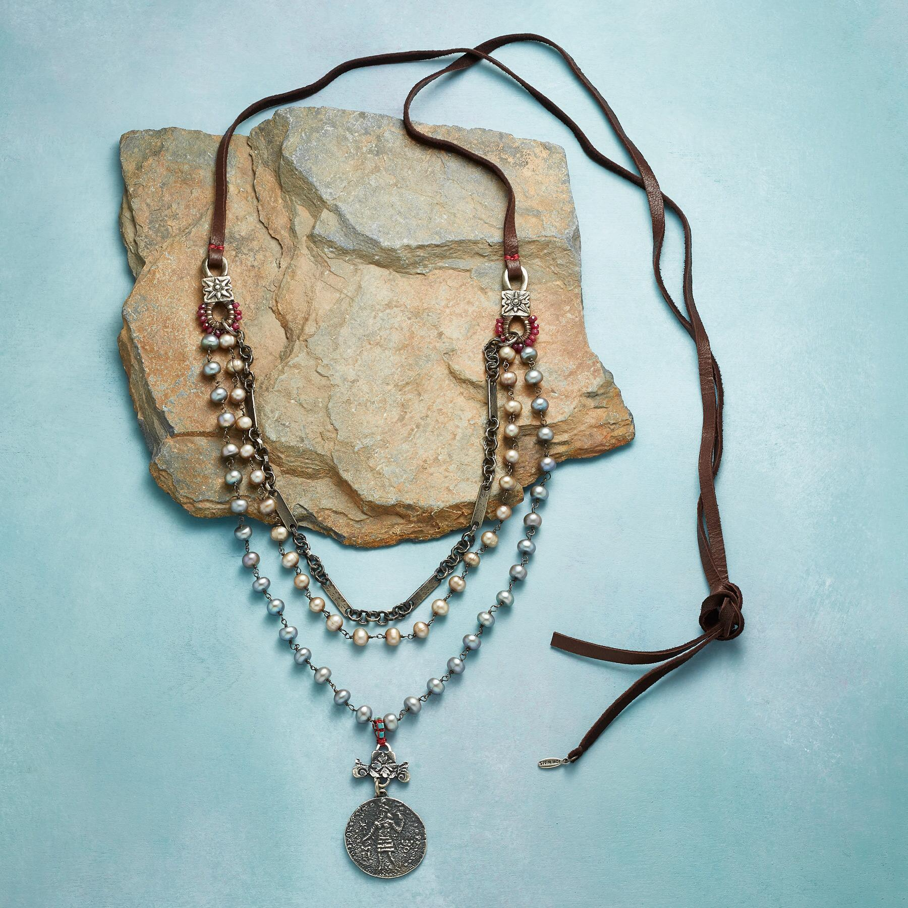 ANCIENT WISDOM NECKLACE: View 2